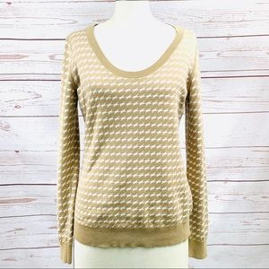 BANANA REPUBLIC scoop neck sweater S/M